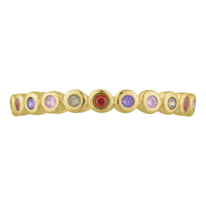Jewel Bezel Ring - Taylor Adorn