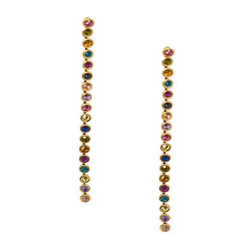Jewel Drop Earring - Taylor Adorn