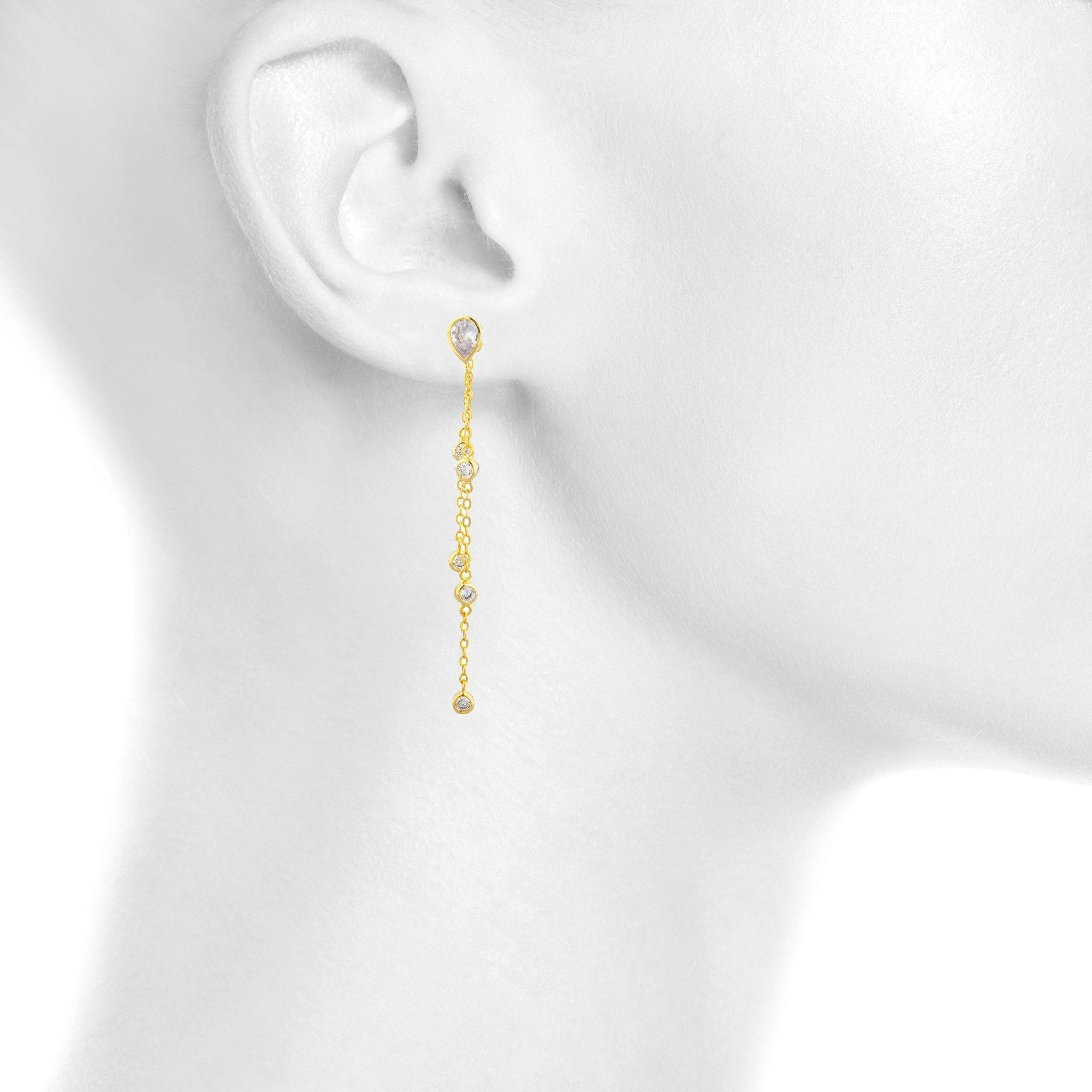 Kira Dangle Earring - Taylor Adorn
