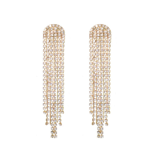 Liv Chain Drop Earring - Taylor Adorn