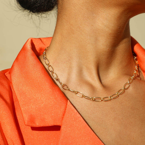 Monica Link Chain Necklace - Taylor Adorn