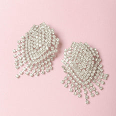Paris Crystal Drop Earring - Taylor Adorn