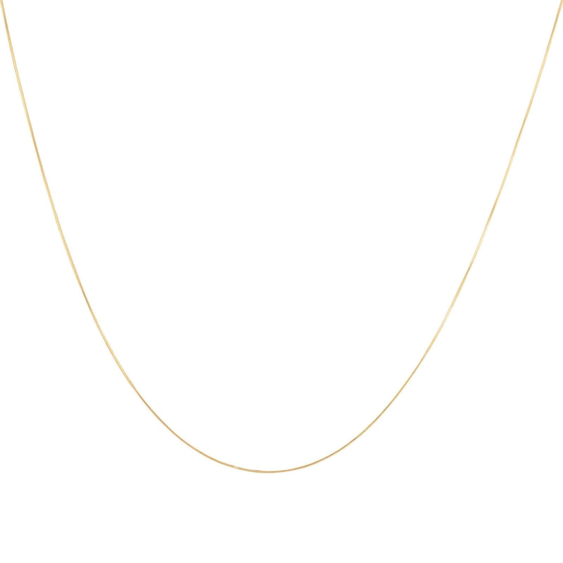 Plain Chain Necklace - Taylor Adorn