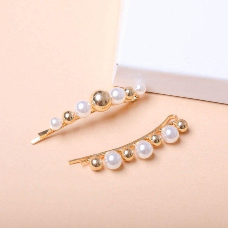 Adeline Pearl Pin | Set of 2 - Taylor Adorn