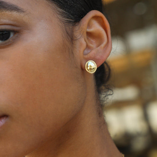 Evie Mirror Stud Earring - Taylor Adorn