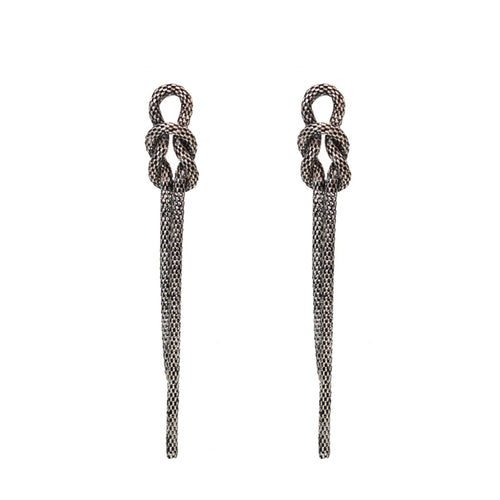 Tess Chain Drop Earring - Taylor Adorn