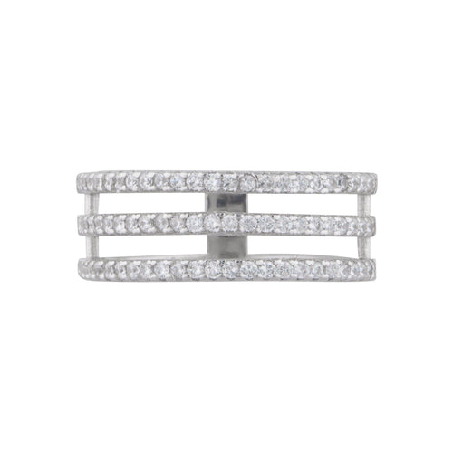 Trinity Pave Band Ring - Taylor Adorn