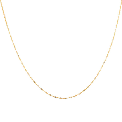 Twist Chain Necklace - Taylor Adorn