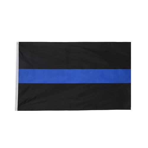 3x5 Thin Blue Line Flag