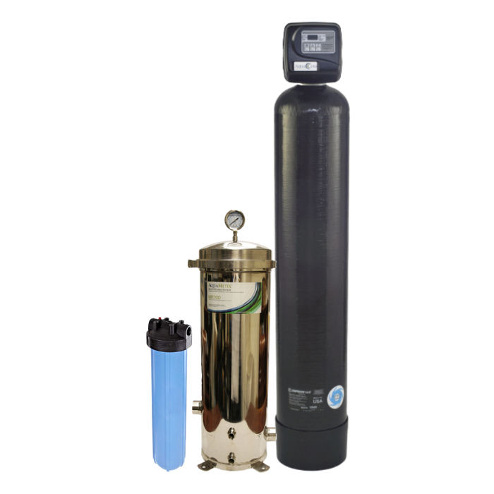 AquaComplete™ Combo Whole House Water Filtration System with AquaMetix® plus KDF+