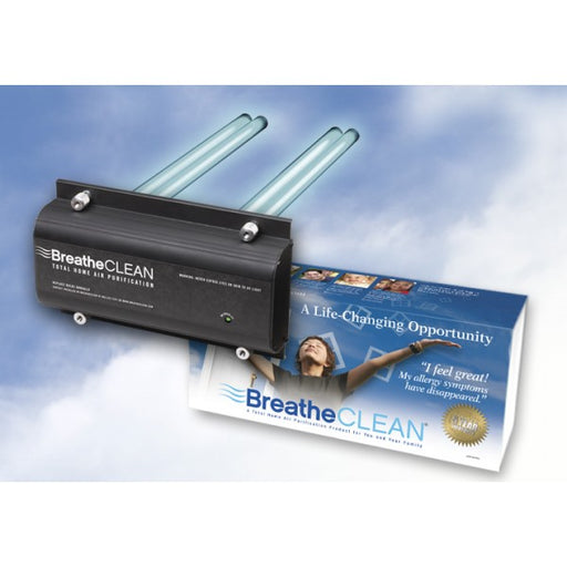 BreatheCLEAN total home ultraviolet air purification system