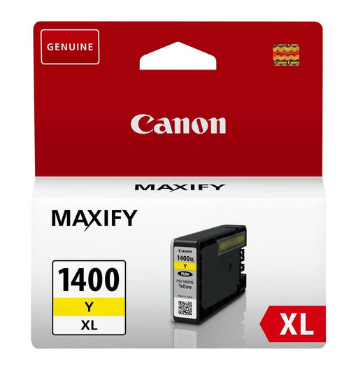 CANON MAXIFY PGI-1400 XL YELLOW CARTRIDGE أحبار طابعات كانون - Optimum Copy Center