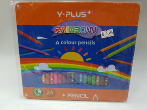 Y Plus Rainbow Colour Pencils - Optimum Copy Center