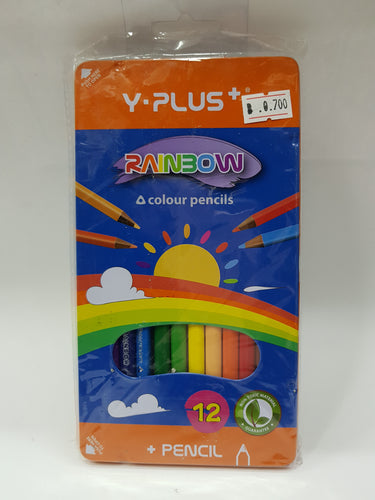 Y Plus+ Rainbow Colour Pencils - Optimum Copy Center