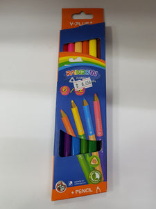 Y Plus + Rainbow Jumbo Pencil - Optimum Copy Center