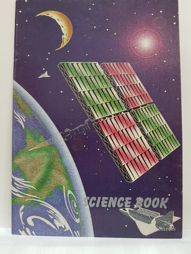 Science Notebook 8' x 11.35