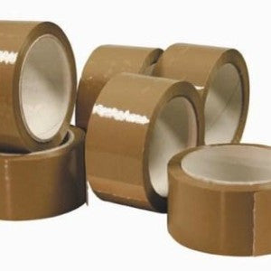 Brown Packaging Tape 48mm - شريط لاصق - Optimum Copy Center