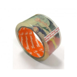"Flamingo Clear  2"" x 100 yard packing tape شريط لاصق - Optimum Copy Center"