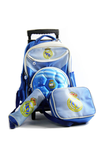 3D FIBA Trolley Bag Small شنط مدرسية - Optimum Copy Center