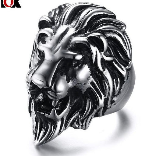 lion ring Stainless Steel