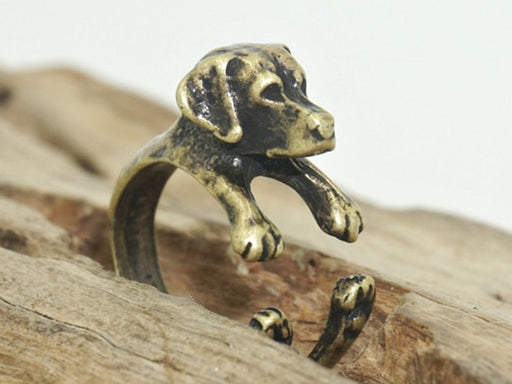 Cute puppy Rings