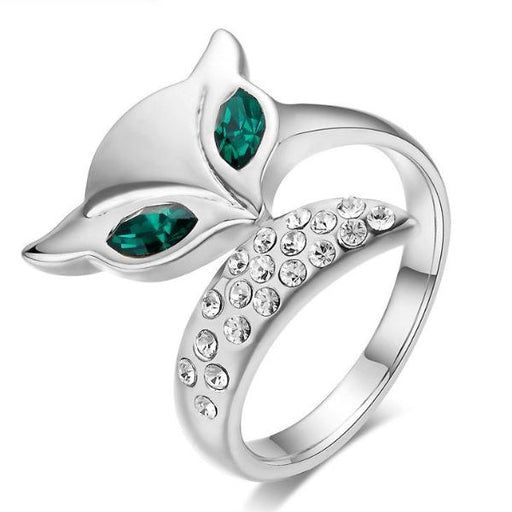 Cute fox ring for women