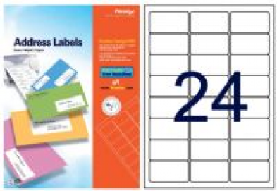 Formtec Multi purpose labels ليبلات \ أوراق بيضاء لاصقة - Optimum Copy Center