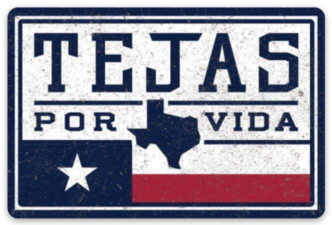 "The ""1989 Tejas Flag"" Sticker"