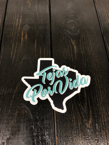 "The ""Heart of Texas"" Sticker"