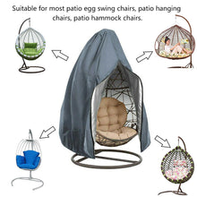 230x200cm Swing Hanging Chair Eggshell Dust Cover Waterproof UV Resistant Durable Windproof Cover Outdoor Garden Yard Products - Bannaga ⭐ Express™