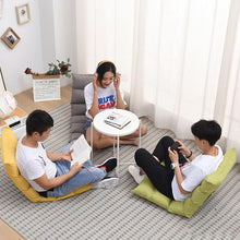Japanese Floor Chair Folding Adjustable Lazy Sofa Chair Floor Gaming Sofa Chair Padded Lounger Soft Recliner with Back Support - Bannaga ⭐ Express™
