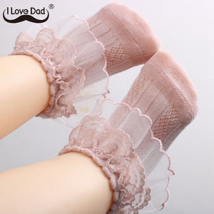 0-3 Years New Princess Baby Girl Socks Lace Ruffle Kids Girls Socks Newborn Infant Baby Socks Meia Infantil - Bannaga ⭐ Express™