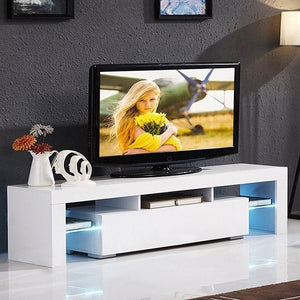 Modern LED TV Stand Cabinet Living Room Furniture fit for up to 50inch TV Screens High Capacity TV Console for Living Room - Bannaga ⭐ Express™