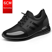 XPAY 2020 Men's Sneakers Quality 6CM Increasing British Shoes New Breathable Summer Casual Sneakers Big Size Office Shoes Men - Bannaga ⭐ Express™