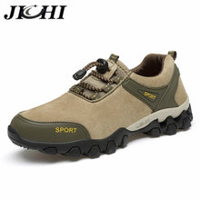 JICHI Autumn Men Shoes Fashion Design Lightweight Breathable Men's Sneakers Outdoor Non-slip Lace-up Men's Shoes Hiking Shoes - Bannaga ⭐ Express™
