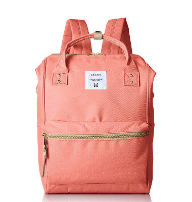 Anello Official Backpack with Metal Clasp AT B 0197B Pink