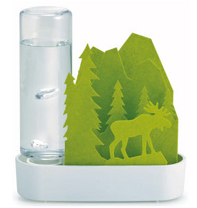 Sekisui Jushi Eco Humidifier - Green Forest and Elk