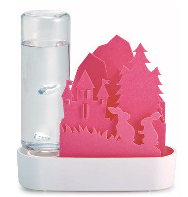 Sekisui Jushi Eco Humidifier -Pink Forest and rabbit