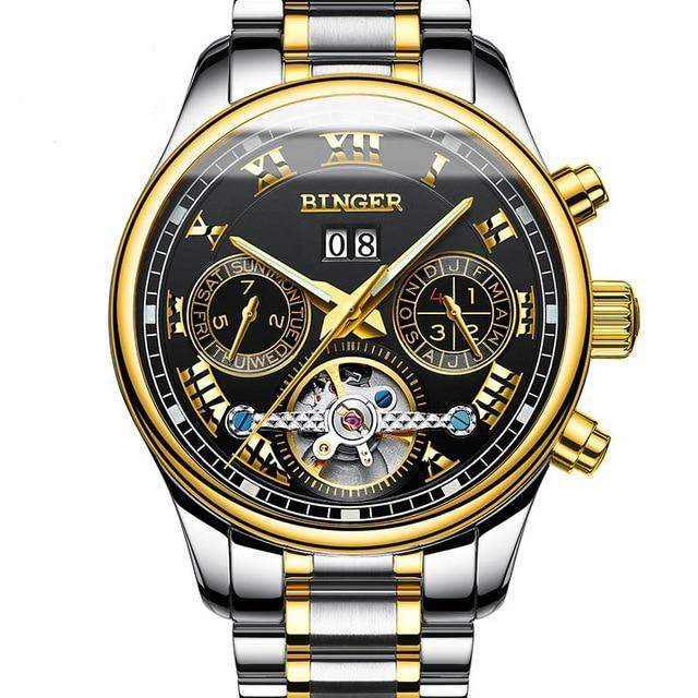 MONTRE ROYAL - Gold | Schwarz