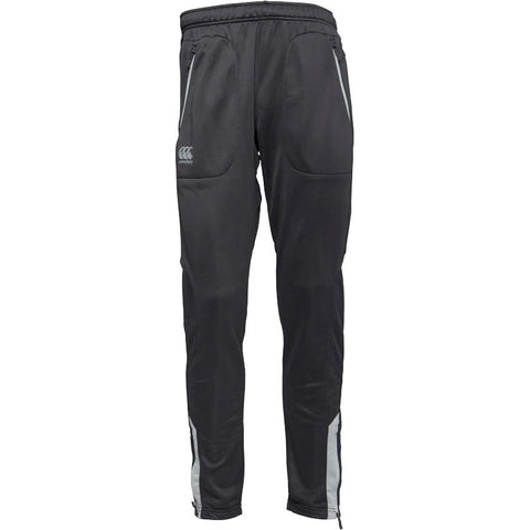 Canterbury Mens Thermoreg Cuffed Poly Knit Tapered Pants Asphalt