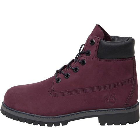 Timberland Junior 6 Inch Premium Waterproof Boots Port Royale