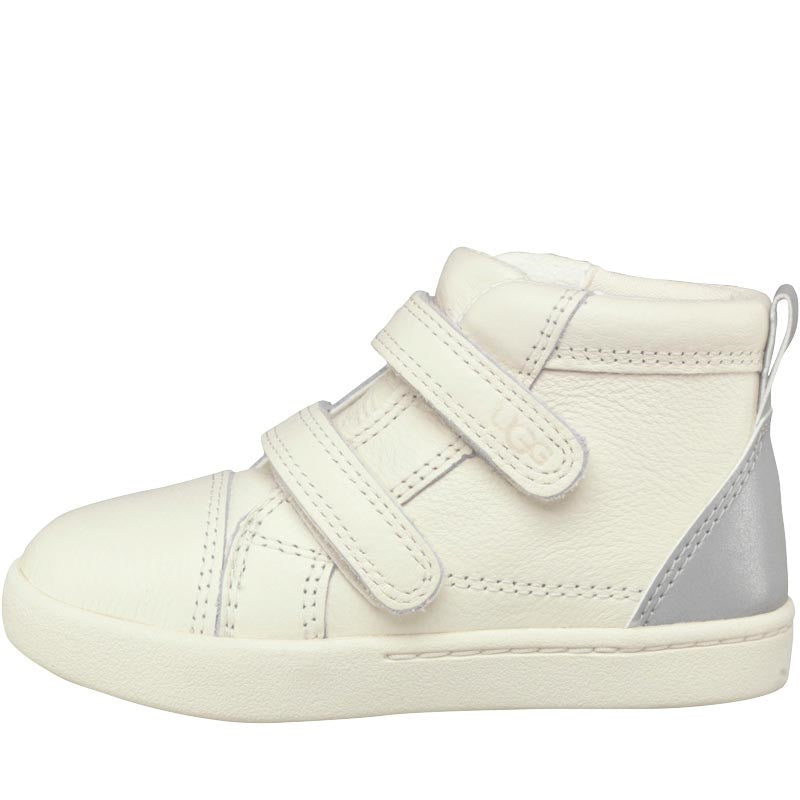 UGG Infant Boys Rennon Reflective Hi-Top Sneakers Waterlily