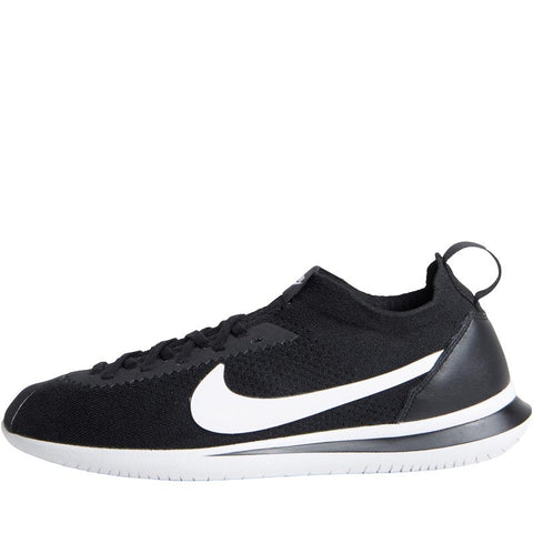 Nike Mens Cortez Flyknit Trainers Black/White