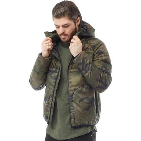 883 Police Mens Balic Jacket Camo Green