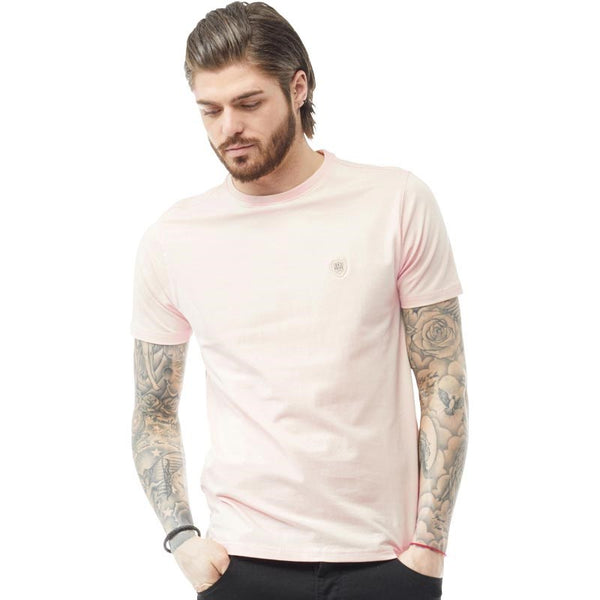 883 Police Mens Norton T-Shirt Pink