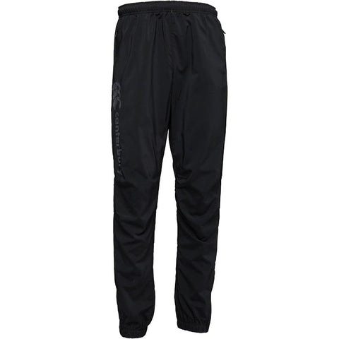 Canterbury Mens Tapered Cuffed Stretch Woven Pants Black