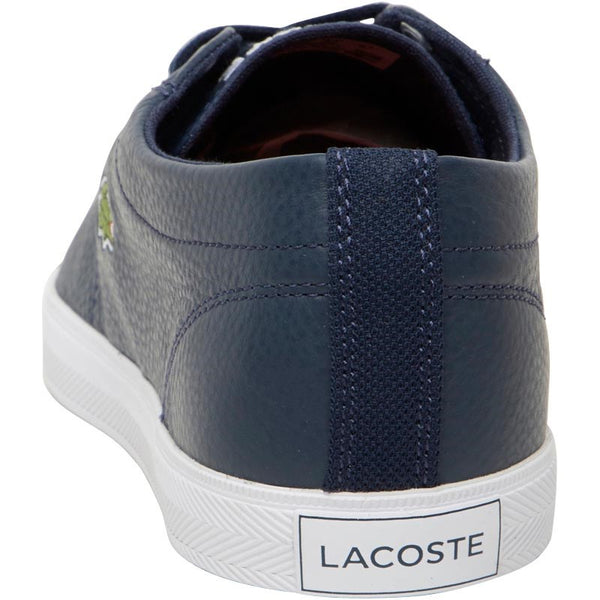 5f318a385306 Lacoste Mens Riberac Leather Trainers Navy Navy – Vittarro