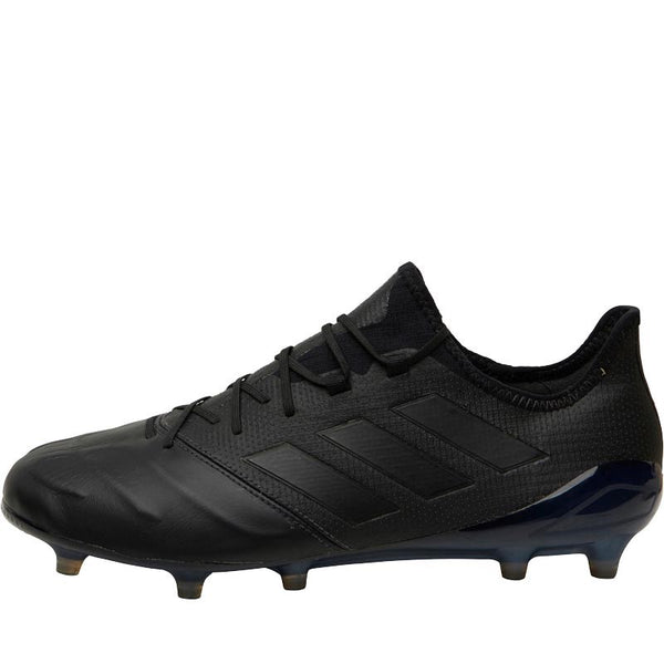 adidas Mens ACE 17.1 Leather FG Football Boots Core Black/Core Black/Core Black