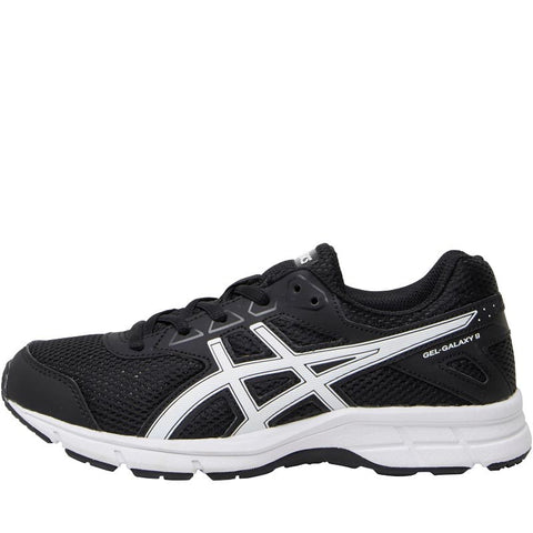 Asics Junior Boys Gel Galaxy 9 GS Neutral Running Shoes Black/Snow/Black