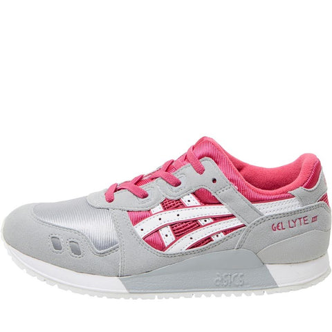 Asics Tiger Junior Gel Lyte III PS Trainers Sport Pink/White